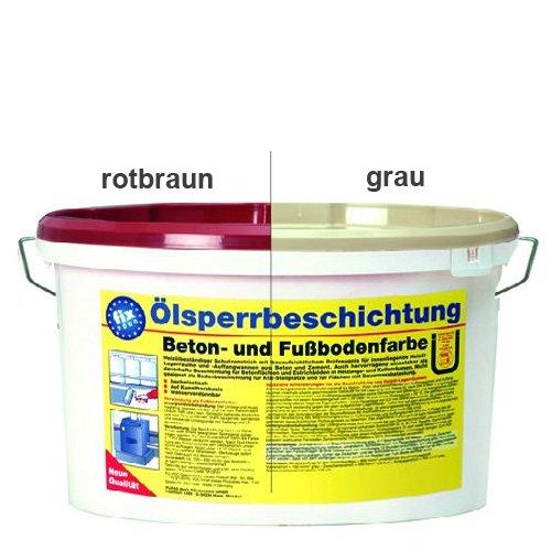 Pufas Fix2000 Ölsperrbeschichtung 5 Liter rotbraun