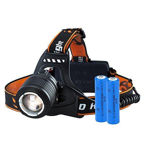 VicTsing Linterna Frontal Recargable LED Alta Potencia