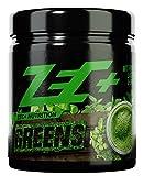ZEC+ GREENS | Superfood Drink aus Obst und Gemüse Pulver | MICRONÄHRSTOFFE | Gerstengras | Arabischer Gummi Pulver | Fruit & Greens™ Extrakt | Apfel-Faser | Spirulina Pulver | Chlorella Pulver | Acerolapulver | 300g