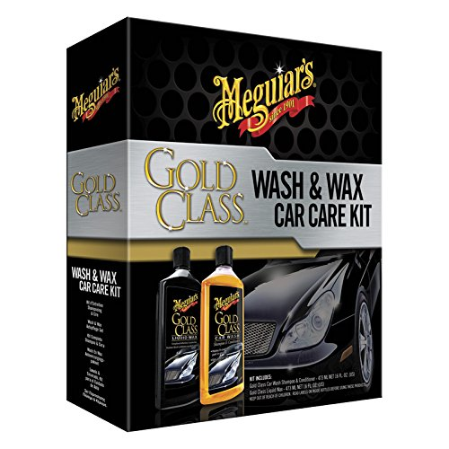 Meguiars G9966EU Gold Class Wash & Wax Care Kit Wash & Wachsset