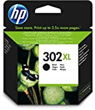 HP 302XL Schwarz Original Druckerpatrone mit hoher Reichweite für HP Deskjet 1110, 2130, 3630; HP OfficeJet 3830, 4650; HP ENVY 4520