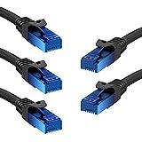 KabelDirekt Cable de Red Ethernet 5x ([1,5m Cat6, LAN, Gigabit Ethernet, RJ45, UTP, Compatible con todas las Versiones Anteriores Cat5/Cat5e, TOP Series])