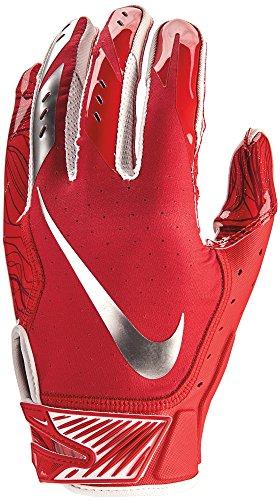 Nike Vapor Jet 5.0 Design 2018, American Football Skill Handschuhe - rot Gr. L