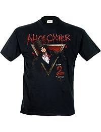Alice Cooper Men Welcome to My Nightmare Short Sleeve T-Shirt