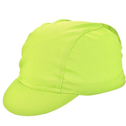 Alomejor Fahrradmütze Schnelltrocknend Atmungsaktiv Sports Sonnenhüte für Radfahren Laufen(Grün)
