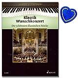 Klassik Wunschkonzert - Die schönsten klassischen Stücke von Ave Maria bis Rhapsody in Blue - Klavier Noten mit ❤ Notenklammer