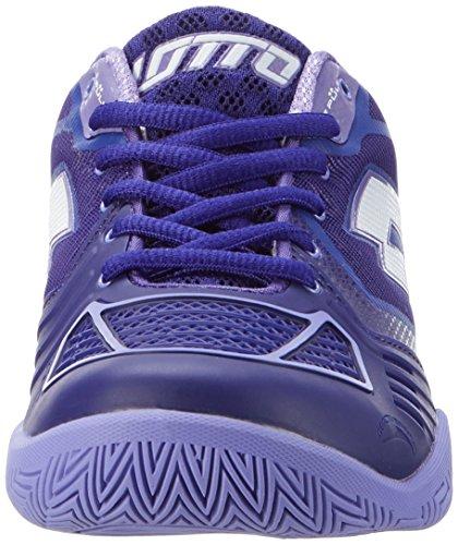 Lotto Sport Stratosphere Ii Spd W, Chaussures de Tennis Femme Bleu (Blu Brg/wht)