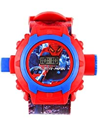 Digital 24 Images Projector Watch for Kids, Return Gift (Available in Different variants) (Spider-Man)