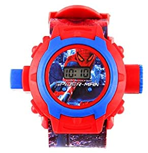 FAVELA Digital 24 Images Superhero / Spiderman / Ben10 / Doraemon Projector with 24 Automatic Projector Images To Play in Night for Kids (Colour May Vary)