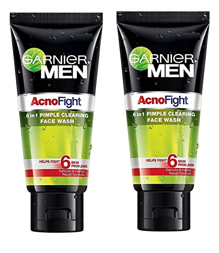 Garnier Acno Fight Face Wash for Men, 100g (Pack of 2)  available at amazon for Rs.330
