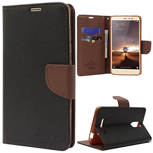best service 793d3 65c12 Cover Crafts (Lenovo K3 Note) Flip Cover Imported Mercury Goospery Fancy  Diary Wallet Flip Case Back Cover