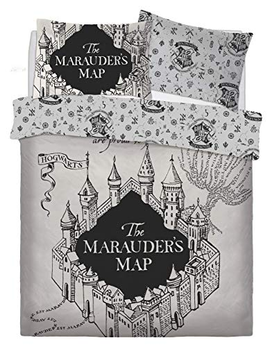 Warner Bros Harry Potter Marauders Map Juego Cama