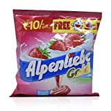#9: Alpenliebe Candy - Gold Strawberry, 340g Pack