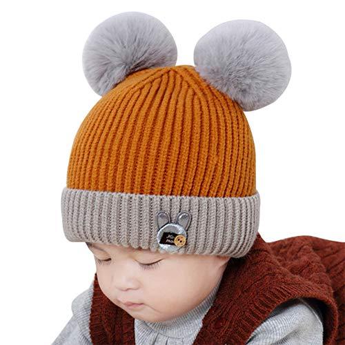 Hut, Herbst und Winter Kopfbedeckung, Jungen und Mädchen Plus SAMT Dicke Babymütze,D