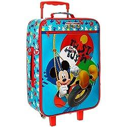 Disney Mickey Twist Equipaje Infantil, 50 cm, 25 Litros, Multicolor