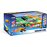 Price comparsion for mondo R/C Hot Wheels Dragon cm.30–Full Function–Light and Sound Effects–Hard Body–Speed 15km/h–Works with: 6AA Batteries Included