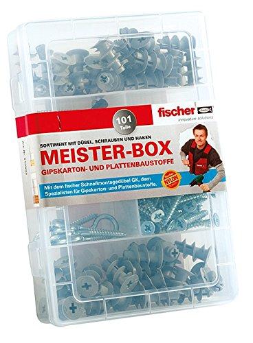 fischer-meister-box-scatola-con-tasselli-per-cartongesso-viti-ganci-contenuto-50-pezzi-1-utensile-38