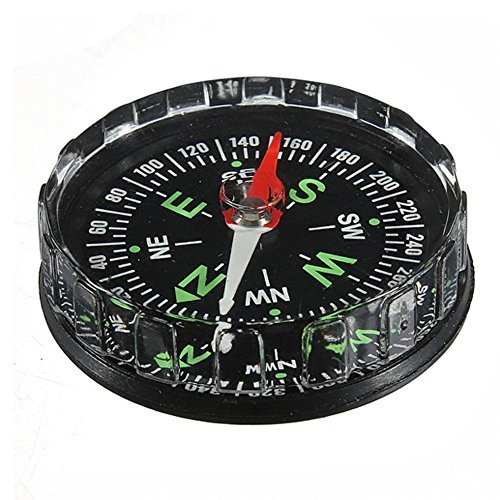 Ungfu Mall Deluxe Pocket Compass Outdoor Sopravvivenza Army Hiking Navigation Tool