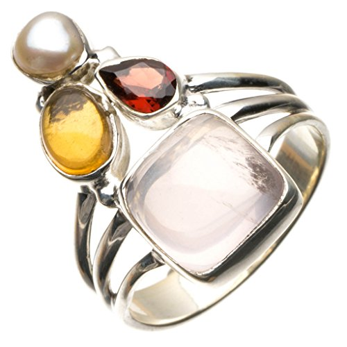 stargemstm-natural-rose-quartzcitrinegarnet-and-river-pearl-925-sterling-silver-ring-uk-size-r-1-2