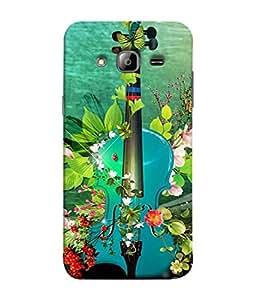 PrintVisa Designer Back Case Cover for Samsung Galaxy On5 Pro (2015) :: Samsung Galaxy On 5 Pro (2015) (Abstract Illustration Colorful Decorative Vector Leaf Colors)