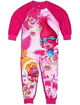 Trolls Mädchen Jumpsuit (Onesie) - pink
