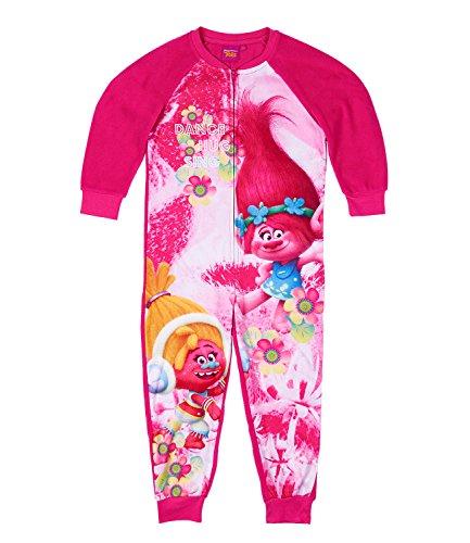 Trolls Mädchen Jumpsuit - pink - 128