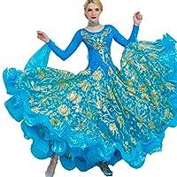 9e00a4815a Gonne da danza Abiti da Ballo Ragazza Donna Ballando Moderno Valzer ...