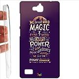 Custodia cover RIGIDA per Huawei Honor 3c - 1036 magic