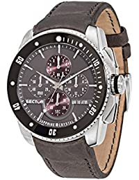 Sector Herren - Armbanduhr 350 Chronograph Quarz Leder R3271903004