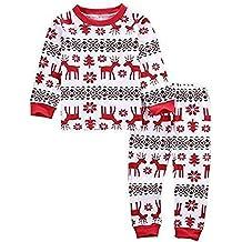 cooshional Conjunto de Pijama Familia de Navidad Ropa de Dormir Navideño para ...