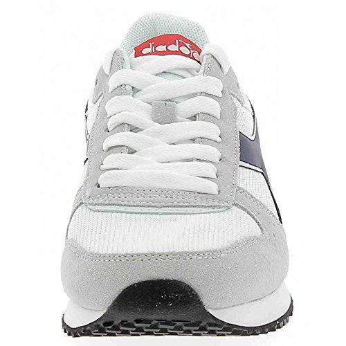 Diadora Unisex-Erwachsene Malone Niedrige Sneaker Grigio/Bianco/Blu