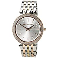 Michael Kors Darci Women's Silver Dial Stainless Steel Band Watch - MK3203