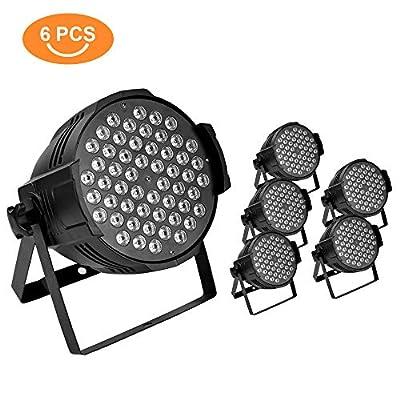 54X3W Stage Light LED DJ PAR Light RGBW 162W DMX 512 Stage Lighting Disco Projector