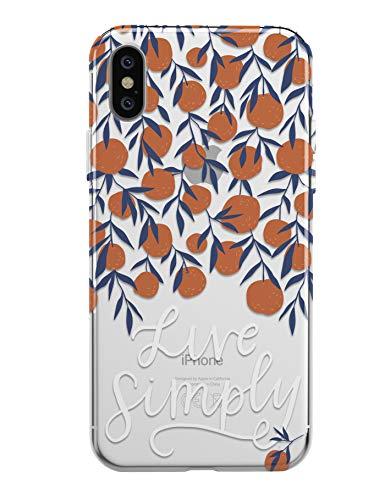 TRFAEE Schutzhülle für iPhone XS Max 16,5 cm, Orange, for iPhone X