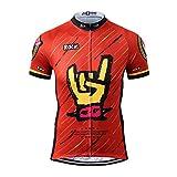 Thriller Rider Sports® Herren Rock Music Sport & Freizeit MTB Fahrradbekleidung Radtrikot