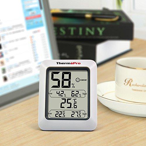 ThermoPro TP50 digitales Thermo-Hygrometer Raumklimakontrolle Raumluftüerwachtung -