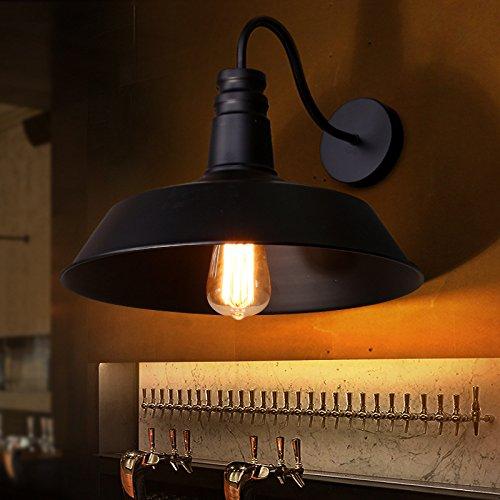 X&L Industrielle Dachboden Nordic Nostalgie RH minimalistischen Abdeckung Steckdose Lampe Fabrik , black