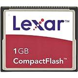Lexar Media 1Go 4x carte mémoire Compact Flash (Cf1gb-231) (emballage de vente)