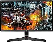 LG 60.96 cm (24 inch) Gaming Monitor - 1ms, 75Hz, AMD Freesync, Full HD, IPS Panel with VGA, HDMI, Display Por