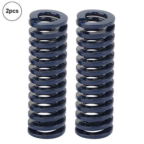Liukouu 2pcs AD 10mm Identifikation 5mm hohe Genauigkeits-Stahlblau-Licht-Last-Form sterben Frühling(TL10*30mm)