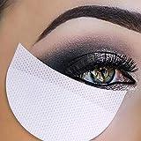 Lidschatten Aufkleber, ROMANTIC BEAR Weiß weichen Lint Vlies Einweg Unter Augenklappen Augen Make-up-Anwendung (100 Teile/Paket)