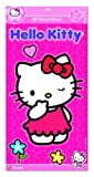 FF5181 Hello Kitty 3D Wandsticker XXL 'Glow in the Dark', 'Nachtleuchtend', Stickerbogen ist ca. 30 x 50 x 1,5 cm, VE 2