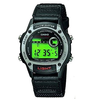 CASIO 19495 W-94HF-8A - Reloj Caballero cuarzo textil dial