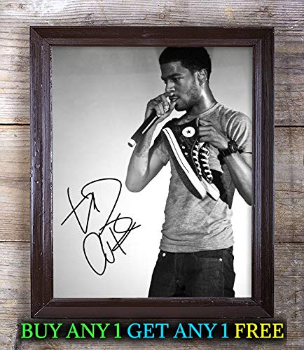 Kid Cudi Man On The Moon: The End of Day Autographed 8x10 Photo Reprint #92 Special Unique Gifts Ideas for Him Her Best Friends Birthday Christmas Xmas Valentines Anniversary Fathers Mothers Day