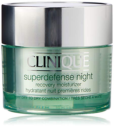 Clinique Nachtcreme Superdefense Night Recovery Moisturizer Type 1/2 50 ml - Nachtcreme Clinique