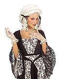 Damen Barock Perücke Sophia Weiß - zum Rokoko Mittelalter Kostüm