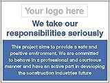 Caledonia Schilder 26685K Zeichen, sichere und positive environment-responsibility