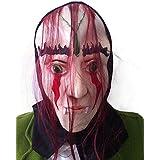 SaiDeng Máscara De Halloween Horror Partido Del Traje De Pelo Rojo