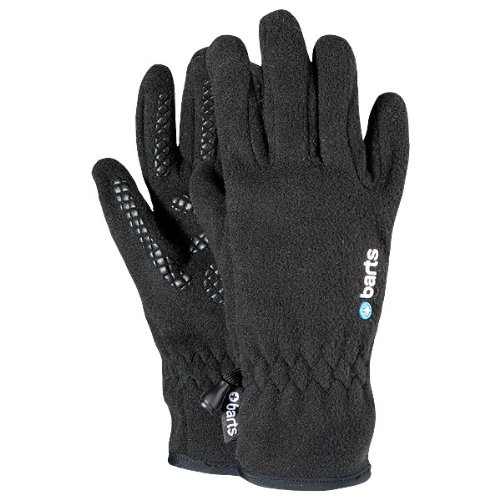 Barts Fleece Gloves Kids,Schwarz,Gr.5