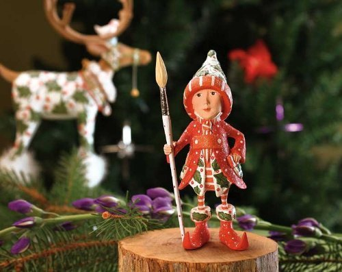 Patience Brewster Vixen's Painter Elf - Krinkles Christmas D?cor New 08-30658 by Patience Brewster Inc.